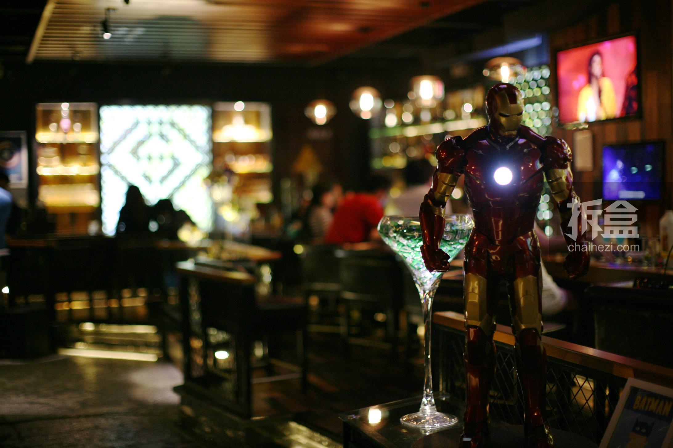 酒吧进门口装修效果图