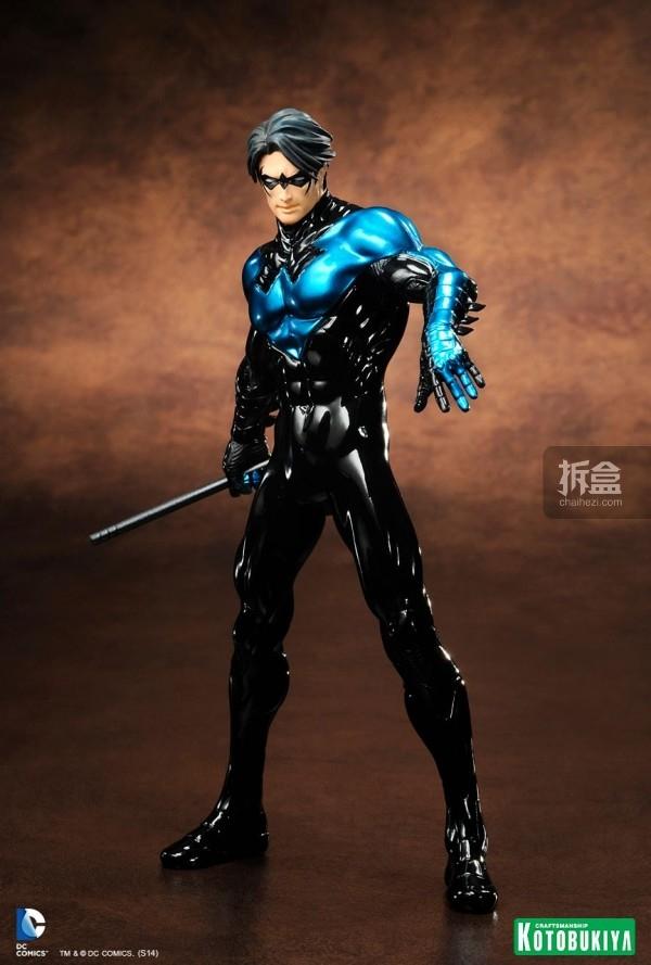 寿屋公布DC夜翼Nightwing蓝色限定版Artfx+雕像! | 拆盒网