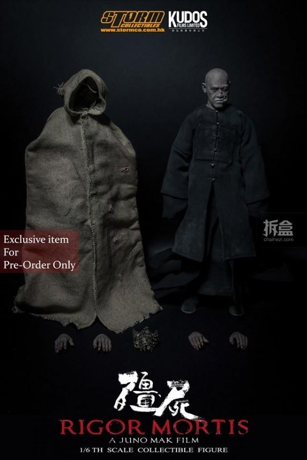collectibles发售麦浚龙电影《僵尸》人偶图片