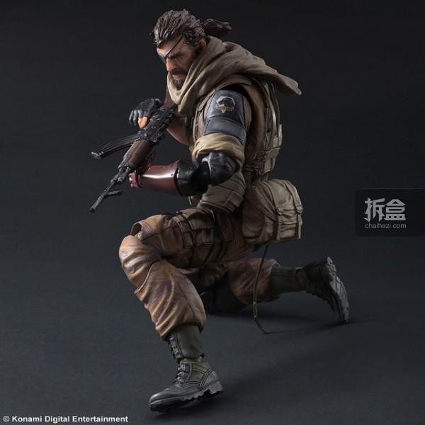 dnfsnake_play arts改「合金装备5:幻痛」punished snake毒蛇gold tiger &