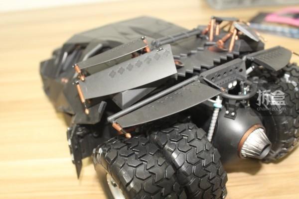 拆盒网开箱:soap《蝙蝠侠:黑暗骑士》1:12智能遥控车